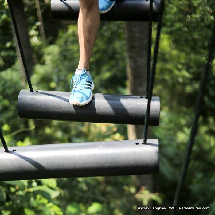 Step up to the challenges at Skytrex Langkawi Adventure Park