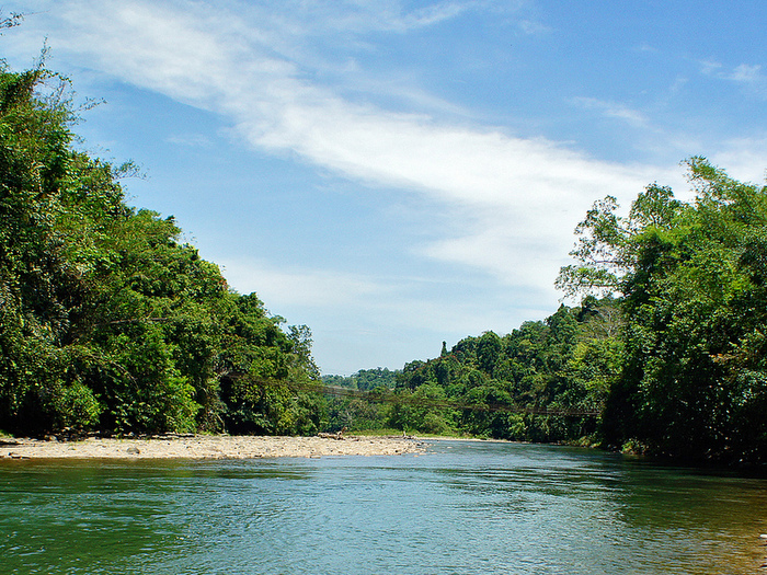 Pristine surroundings at Kiulu River
