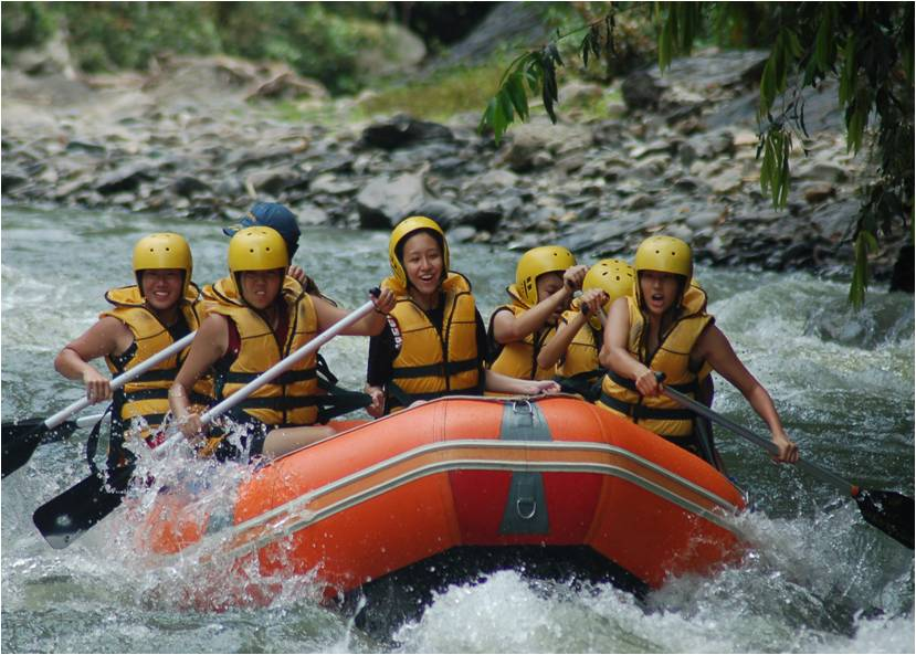 Liwagu Rafting Excitement