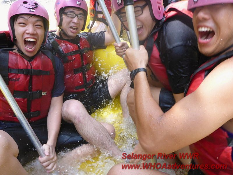 Happy Happy Joy Joy Selangor whitewater rafting