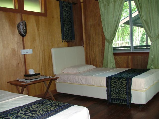Agamid Rooms, Nature Lodge Kinabatangan